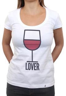 Vinho Lover - Camiseta Clássica Feminina