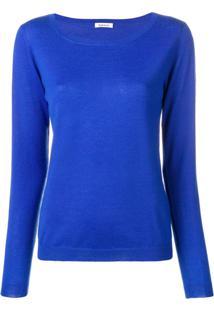 P.A.R.O.S.H. Cashmere Pullover - Azul