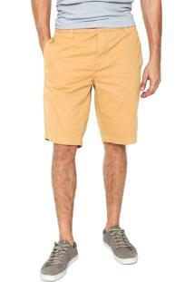 Bermuda Sarja Calvin Klein Jeans Chino Caramelo