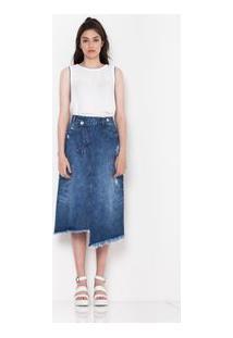 Saia Longa Jeans Brenda Jeans