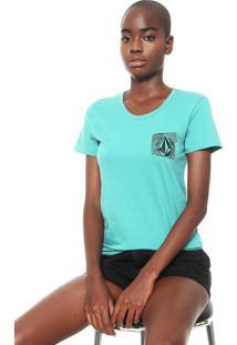 Camiseta Volcom Easy Verde