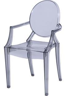 Cadeira De Jar Invisible C/ Braço Or-1106 – Or Design - Incolor