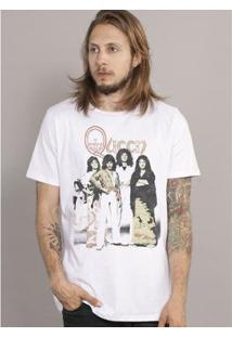 Camiseta Bandup Queen Photo - Masculino-Branco
