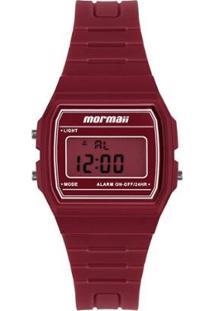 Relógio Mormaii Feminino Maui - Feminino-Vermelho
