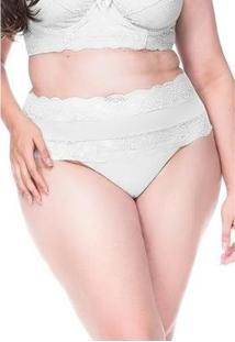 Calcinha Passione Sempre Sensual Lingerie - Feminino-Branco