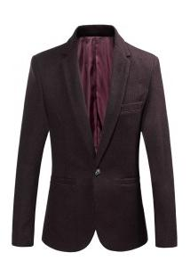 Blazer Masculino Elegante Design Slim - Vinho