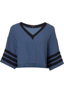 Camiseta Rosa Chá Sport Feminina (Insignia Blue, M)