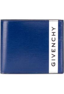 Givenchy Carteira Encerada - Azul