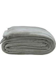 Cobertor Casal- Cinza Escuro- 180X220Cm- Sultansultan