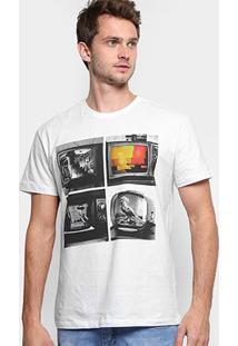 Camiseta Reserva Estampada Masculina - Masculino