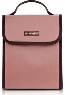 Bolsa Térmica Jacki Design De Poliéster Folha De Alumínio - Unissex-Rosa