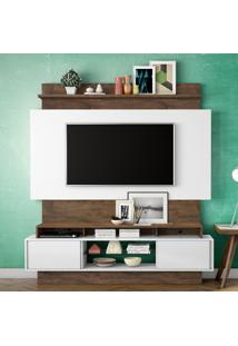 Painel Para Tv Tb112 Off White/Nobre - Dalla Costa
