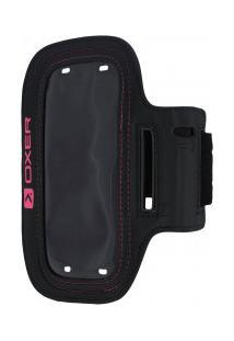 Braçadeira Porta-Celular Oxer H61 - Preto/Rosa