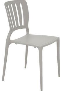 Cadeira Sofia- Concreto- 82,5X44,5X53Cm- Tramonttramontina