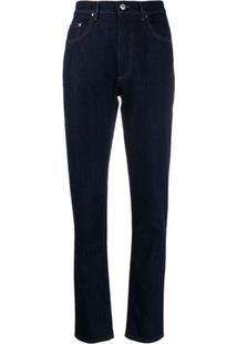 Katharine Hamnett London Calça Jeans Reta - Azul