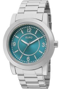 Relógio Euro Feminino Colors Eu2036Ygb/3A - Prata