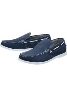 Dockside Shoes Grand Pala Lisa Azul