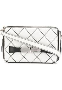 Alexander Mcqueen The Myth Crossbody Bag - Branco