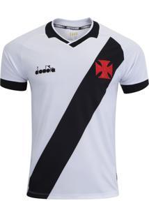 Camisa Diadora Vasco Da Gama Away 2019 Branca Fan