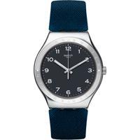 fc9cda8d048 Relógio Swatch Masculino Borracha Azul - Yws102 Vivara