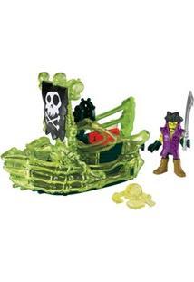 Imaginext Mattel Pirata Básico - Navio Pirata