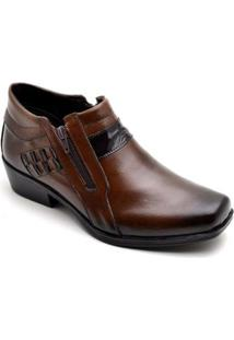 Bota Top Franca Shoes Casual Masculino - Masculino-Café