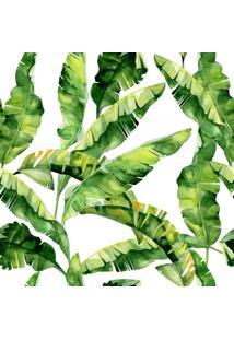 Papel De Parede Adesivo Stickdecor Folhas De Bananeira Verde