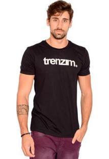Camiseta Bendizê Trenzim - Masculino-Preto