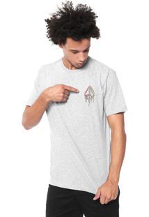 Camiseta Volcom Peace Tree Cinza