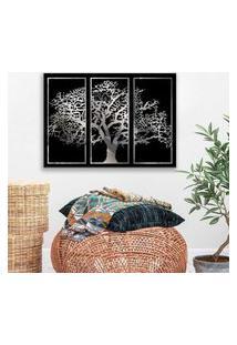 Quadro Com Espelho Beautiful Tree Médio