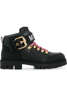 Moschino Trekking Ankle Boot - Preto