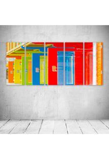 Quadro Decorativo - Colour - Composto De 5 Quadros