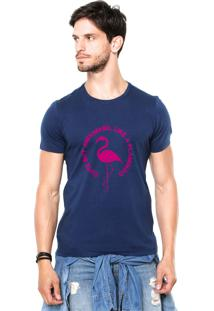 Camiseta Rgx Like A Flamingo Azul