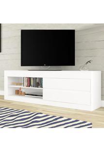 Rack Para Tv Até 55 Polegadas Uno Branco - Viero Móveis