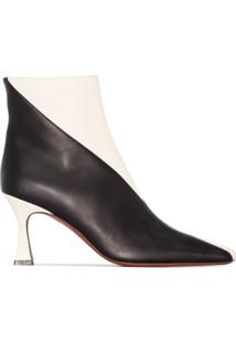 Manu Atelier Duck 80Mm Ankle Boots - Preto