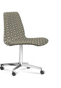 Cadeira Eames Loft Cinza E Bege