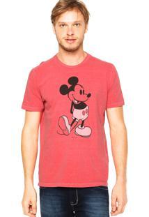 Camiseta Ellus Mickey Vermelha