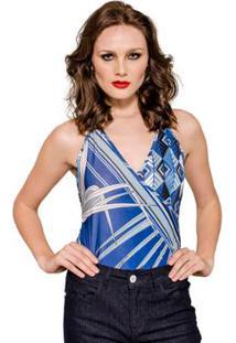 Body Cache Coeur Alphorria A - Feminino-Azul
