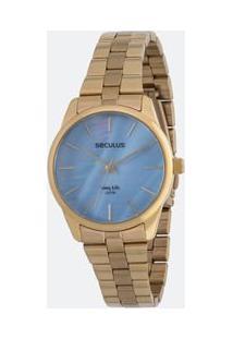 384f1bba6f6 Lojas Renner. Relógio Feminino Seculus Fashion Analógico 5atm 77013lpsvda1