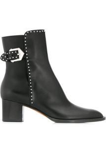 Givenchy Ankle Boot Com Fivela - Preto