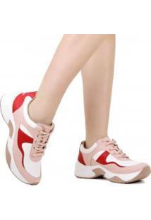 Tênis Sneaker Dakota Chunky Recortes