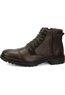 Bota Coturno Sw Shoes Café