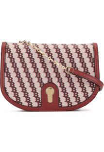 Bally Clayn Small Shoulder Bag - Vermelho