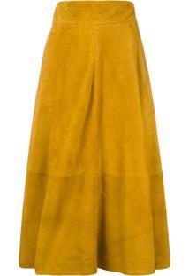 Christopher Kane A-Line Skirt - Laranja