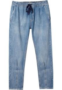 Calça John John Rock Natal Jeans Azul Masculina (Jeans Medio, 46)