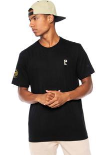 Camiseta New Era Pittsburgh Pirates Preto