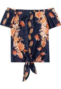 Blusa Ciganinha Floral Malwee