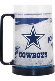 Caneca Chopp Térmica Dallas Cowboys - Nfl Azul