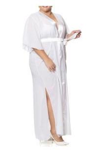 Robe Longo Chiffon Brupi (7209) Plus Size
