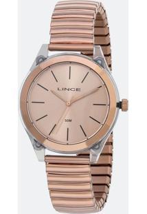 Relógio Feminino Lince Lrr4484P R1Rx Analógico 5Atm